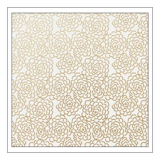 Gossamer Blue Vellum Paper Sheet Golden Hour On My Desk Collection by Paislee Press