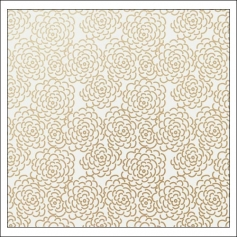 Gossamer Blue Vellum Paper Sheet Golden Hour On My Desk Collection by Paislee Press