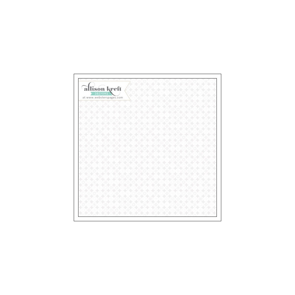 Websters Pages Clear Overlay Snowflakes Its Christmas Collection by Allison Kreft