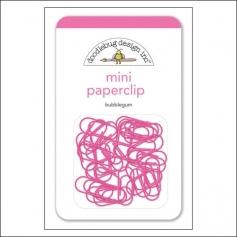 Doodlebug Mini Metal Paperclip Bubblegum