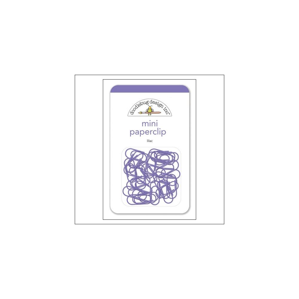 Doodlebug Mini Metal Paperclip Lilac