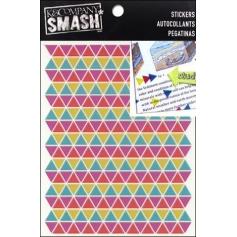 K and Company Smash Neon Triangle Stickers