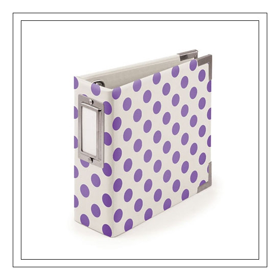 We R Memory Keepers Albums Made Easy 4x4 Instagram Neon Purple
