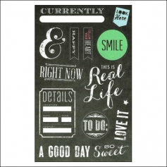 Me and My Big Ideas Sticks Gratitude Chalkboard Stickers