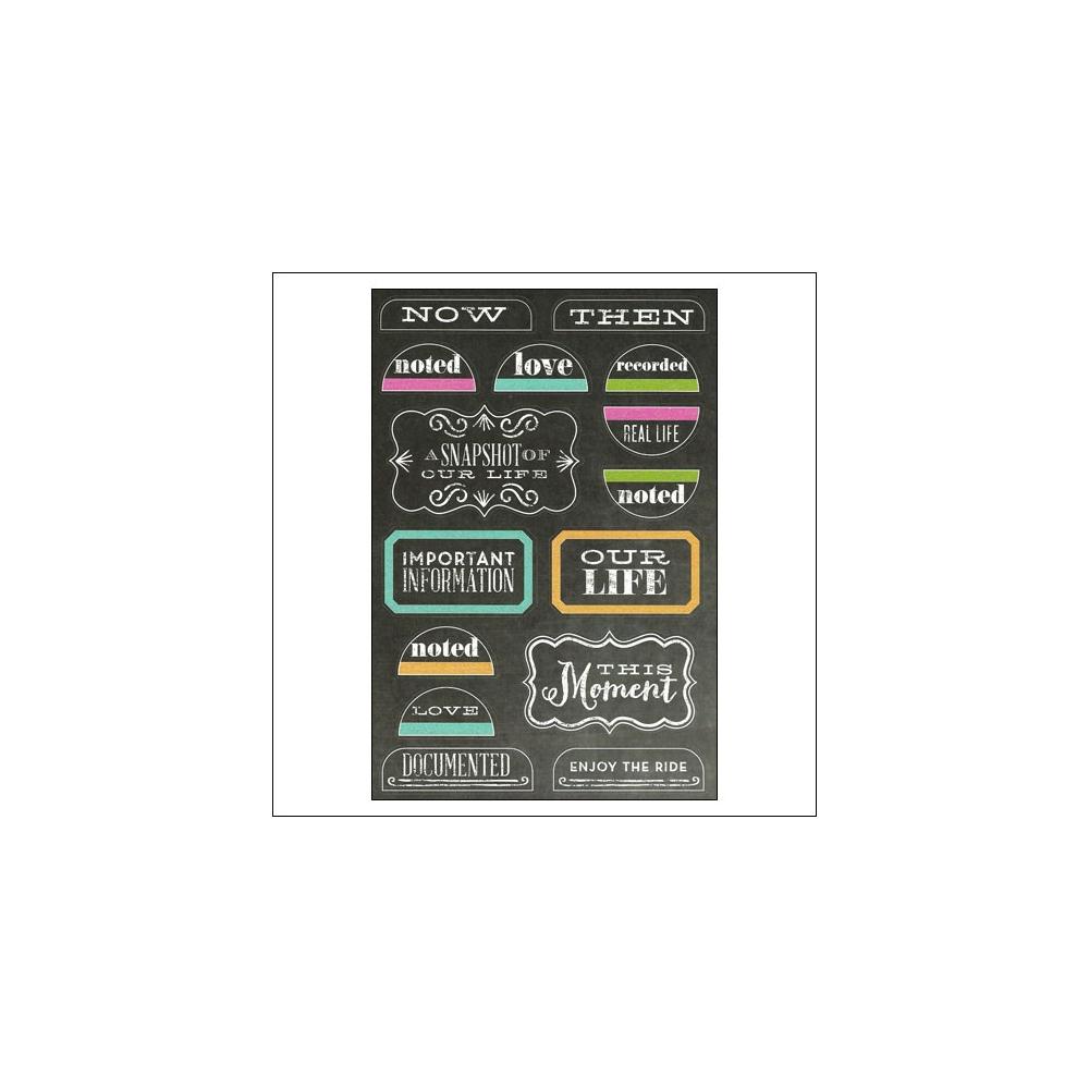 Me and My Big Ideas Sticks Treasured Chalkboard Stickers