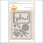American Crafts Die Set Imprint Stitched Collection by Amy Tangerine
