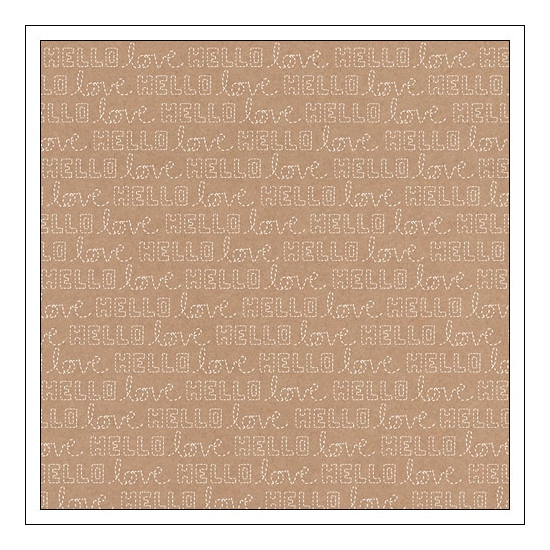 American Crafts Kraft Paper Sheet Hooked Stitched Collection by Amy Tangerine