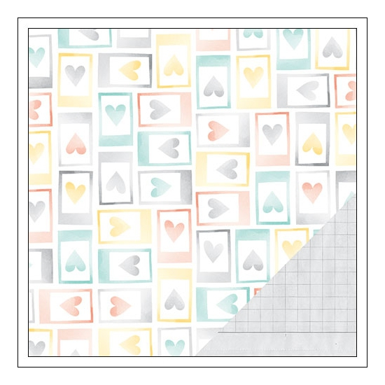 American Crafts Paper Sheet Moments Stitched Collection by Amy Tangerine