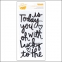American Crafts Thicker Stickers Foam Accents Black Today Stitched Collection by Amy Tangerine