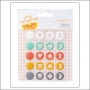 American Crafts Element Enamel Dots Stitched Collection by Amy Tangerine