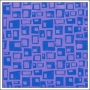 Hambly Screen Prints Metallic Purple Paper Retro Rectangles Purple