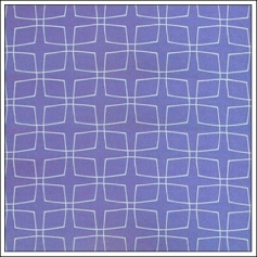 Hambly Screen Prints Metallic Purple Paper Stylish Squares Purple