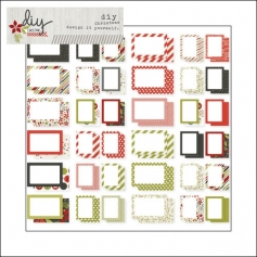 Simple Stories Card Foundations DIY Christmas Collection