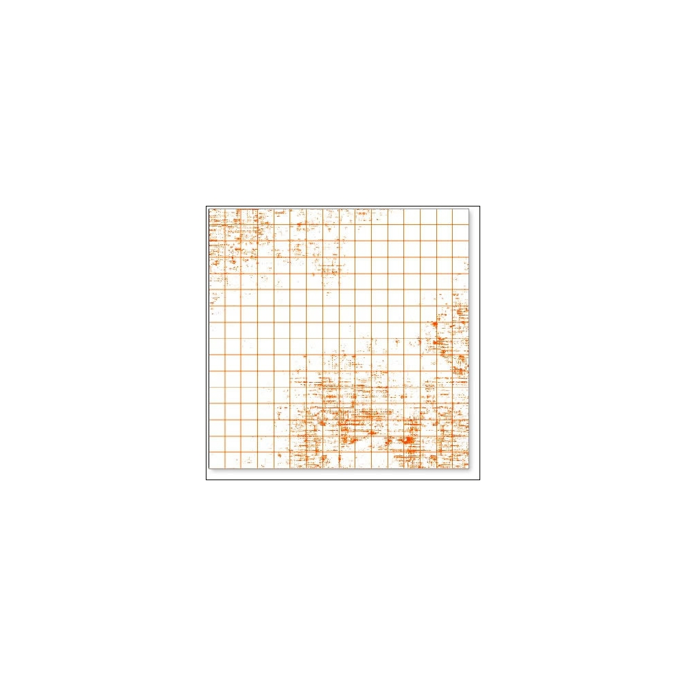 Hambly Screen Prints Overlay Transparency Graph Orange