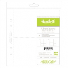 Studio Calico Handbook Page Protectors Square Pockets Wanderlust Collection