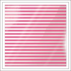 We R Memory Keepers Acetate Sheet Cleary Bold Neon Pink Stripe Clearly Bold Collection