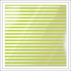 We R Memory Keepers Acetate Sheet Cleary Bold Neon Green Stripe Clearly Bold Collection