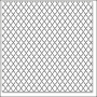Hambly Screen Prints Overlay Transparency Lattice Silver