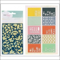 American Crafts Bits Die Cut Cards Lucky Charm Collection by Dear Lizzy