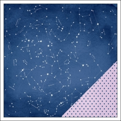 American Crafts Paper Sheet Lucky Stars Serendipity Collection by Dear Lizzy