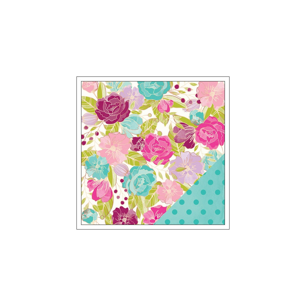 American Crafts Paper Sheet Hello Beautiful Serendipity Collection by Dear Lizzy