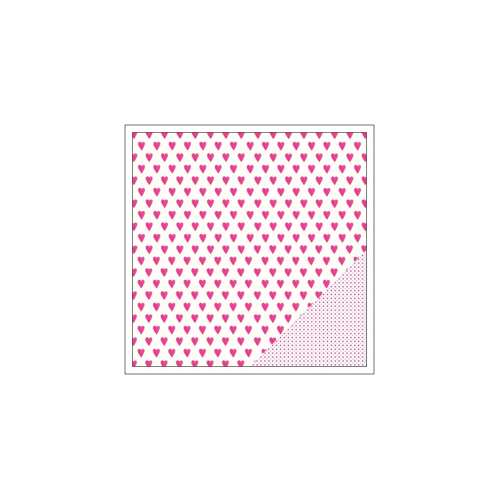 American Crafts Paper Sheet Lucky Love Serendipity Collection by Dear Lizzy