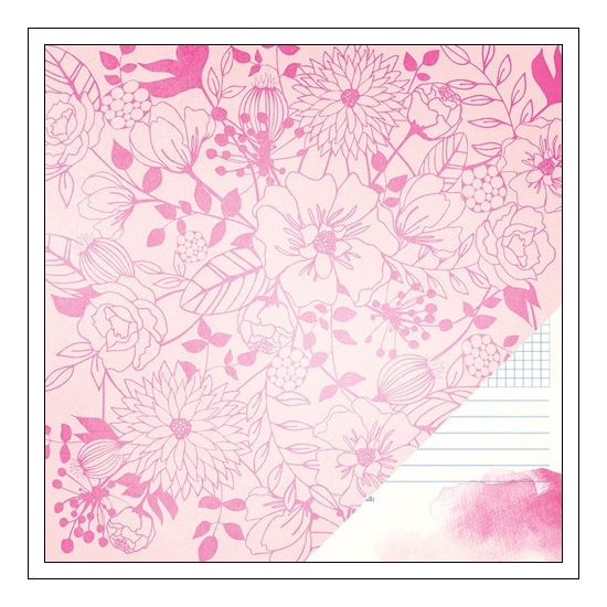American Crafts Paper Sheet Bloom Serendipity Collection by Dear Lizzy
