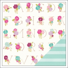 American Crafts Paper Sheet Love Letters Serendipity Collection by Dear Lizzy