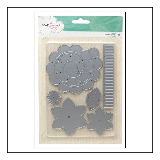 American Crafts Die Set Serendipity Collection by Dear Lizzy