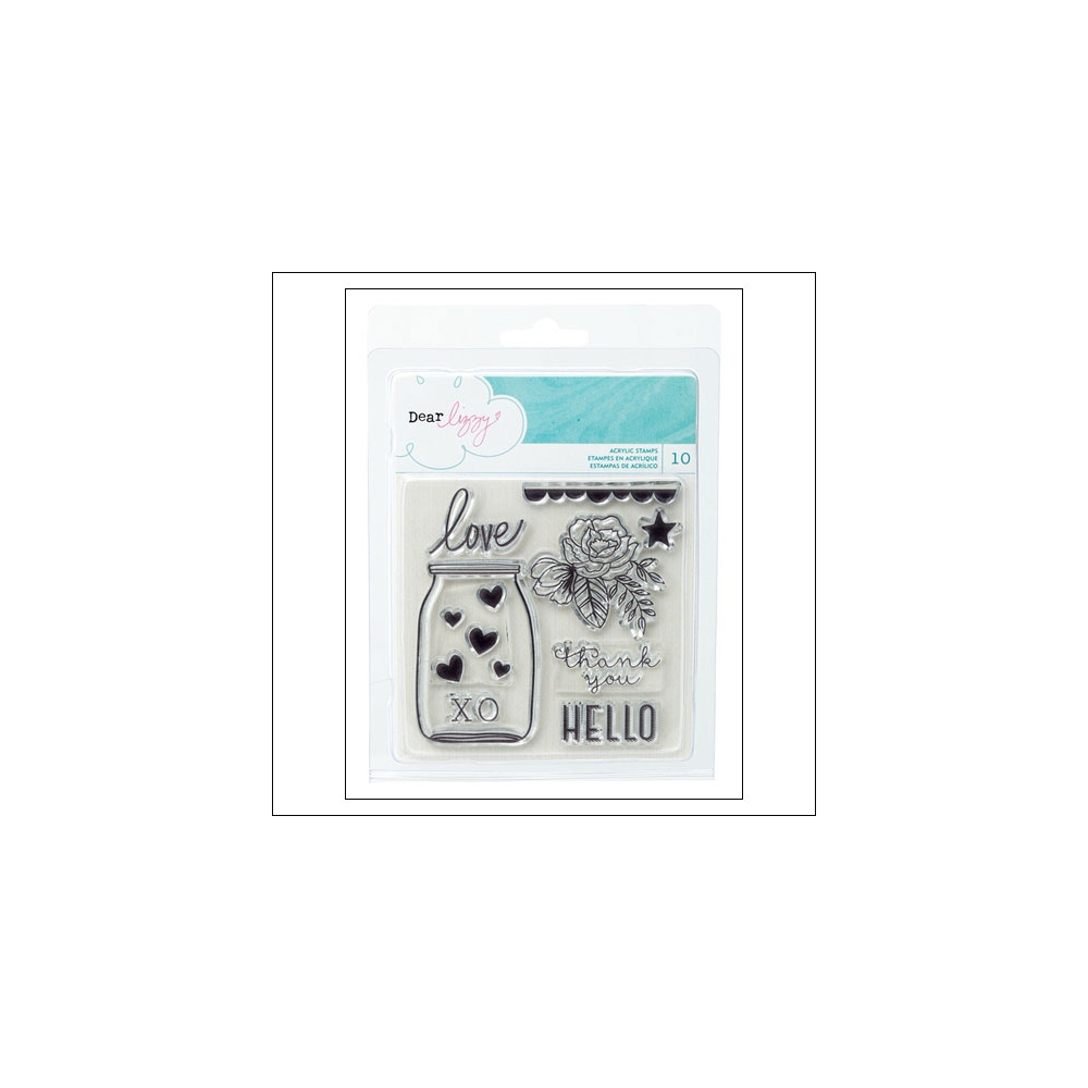 American Crafts Clear Stamps Serendipity Collection by Dear Lizzy