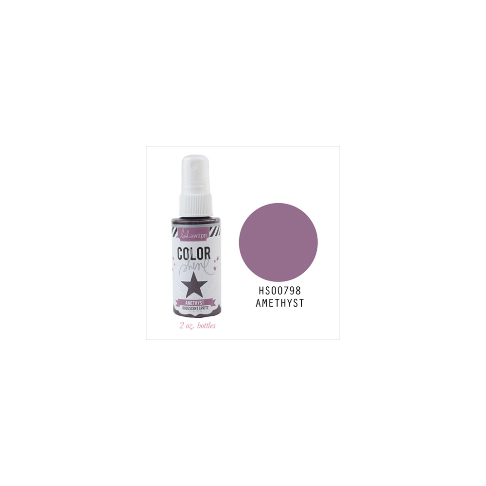 Heidi Swapp Color Shine Iridescent Spritz Amethyst