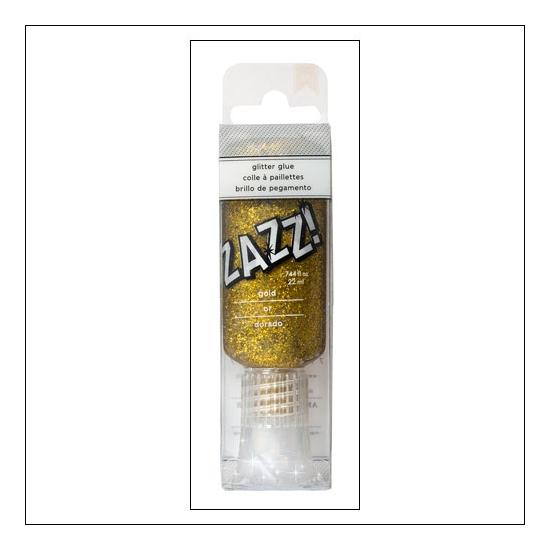 American Crafts Zazz Glitter Glue Gold DIY Shop 2 Collection