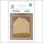 American Crafts Kraft Decorative Tags Gold Glitter DIY Shop 2 Collection