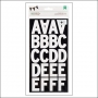 American Crafts Large Alphabet Stickers White DIY Shop 2 Collection