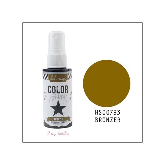 Heidi Swapp Color Shine Iridescent Spritz Bronzer