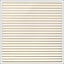American Crafts Paper Sheet Thin Gold Foil Stripe On White Paper DIY Shop 2 Collection