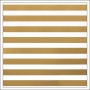 American Crafts Paper Sheet Thick Gold Foil Stripe On White Paper DIY Shop 2 Collection