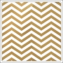 American Crafts Paper Sheet Gold Foil Chevron On White Paper DIY Shop 2 Collection