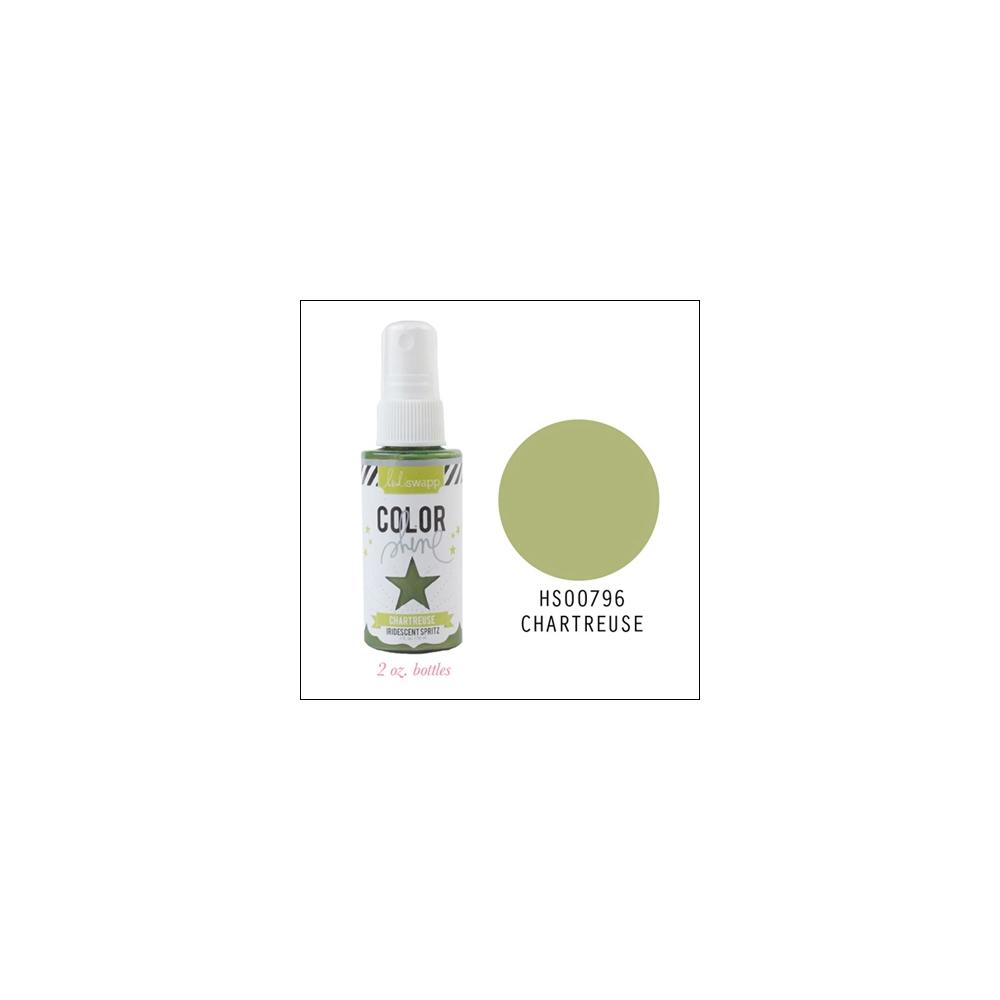 Heidi Swapp Color Shine Iridescent Spritz Chartreuse