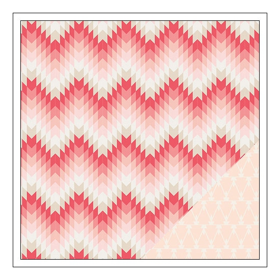 Crate Paper Paper Sheet Valentine Kiss Kiss Collection