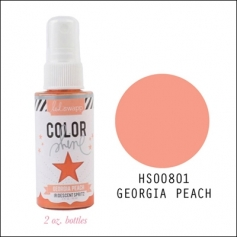 Heidi Swapp Color Shine Iridescent Spritz Georgia Peach