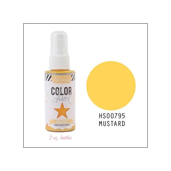 Heidi Swapp Color Shine Iridescent Spritz Mustard