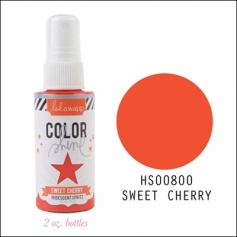 Heidi Swapp Color Shine Iridescent Spritz Sweet Cherry