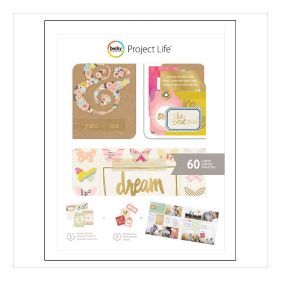 American Crafts Project Life Value Kit Notes and Things by Becky Higgins