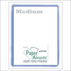 Paper Accents Vellum Sheet Medium White