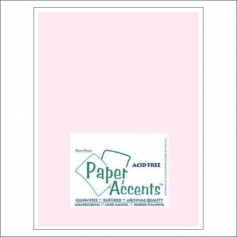 Paper Accents Vellum Sheet Light Pink