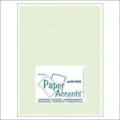Paper Accents Vellum Sheet Light Green