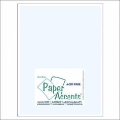 Paper Accents Vellum Sheet Light Blue