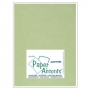Paper Accents Vellum Sheet Leaf Green