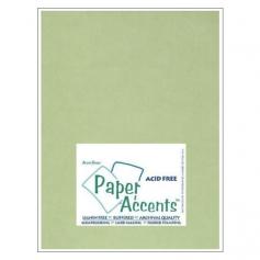 Paper Accents Vellum Sheet Leaf Green
